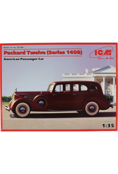 Icm 35536 1/35 Amerikan Yolcu Arabası Maketi Packard Twelve Series 1408