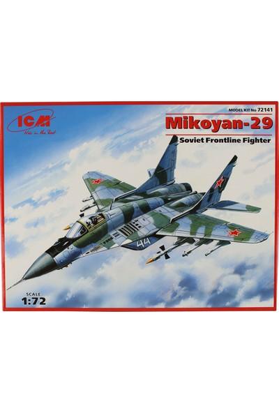 Icm 72141 1/72 Mikoyan-29 Sovyet Savaş Uçağı Maketi