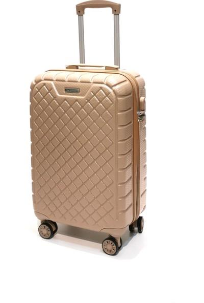 Ehs Kabin Boy Valiz 4 Tekerlekli Vizon Valiz 5162