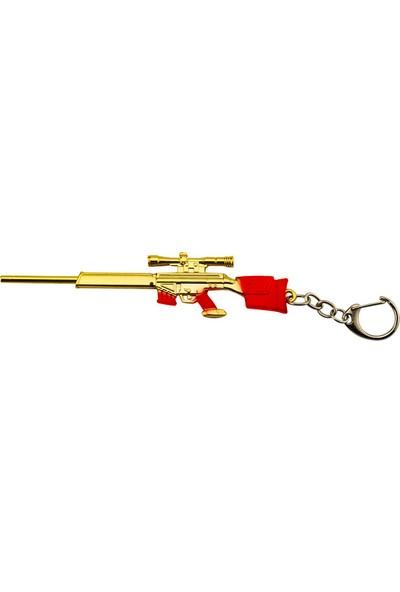 Pubg Altın Tüfek Anahtarlık