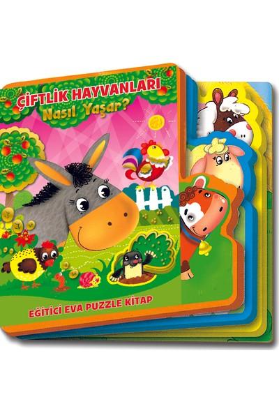 Mega Oyuncak Çiftlik Hayvanları Hikaye Kitabı