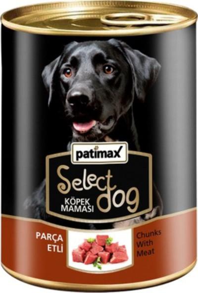 Patimax Parça Etli Köpek Konserve 24 x 400 g