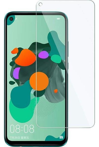 Microcase Huawei Mate 30 Lite Tempered Glass Cam Koruma