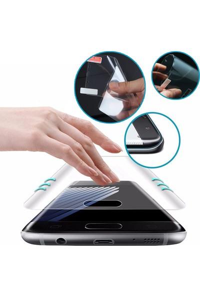 Microcase Huawei Mate 20 Pro Full Ekran Koruma Curved 3D Pet Film