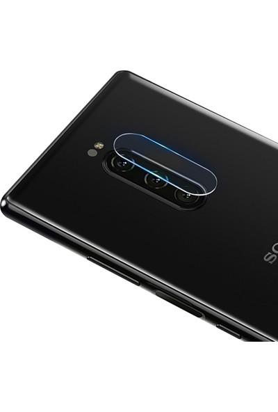 Ally Sony Xperia 1 Yüksek Çözünürlüklü Kamera Lens Koruma Camı AL-31012 Şeffaf