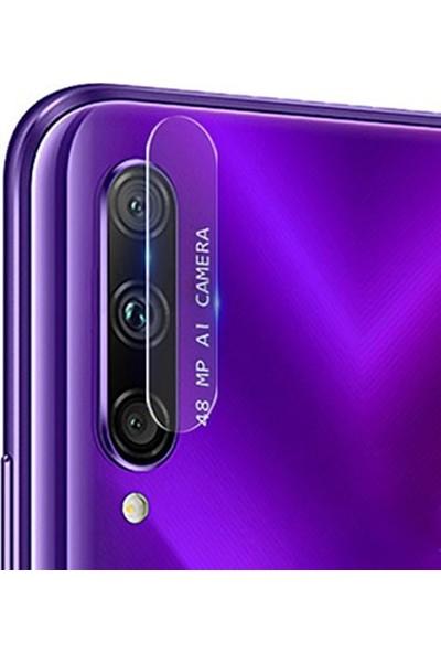 Ally Huawei Honor 9X Pro Yüksek Çözünürlüklü Kamera Lens Koruma Camı AL-31014 Şeffaf