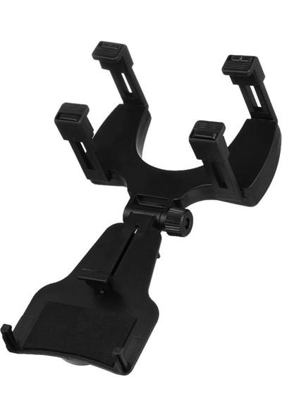 iMount Araç İçi Dikiz Aynası Telefon ve Navigasyon Tutucu Siyah