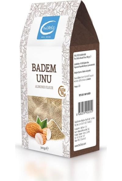 The Lifeco Badem Unu 300 gr Toz Badem Glutensiz Badem Tozu