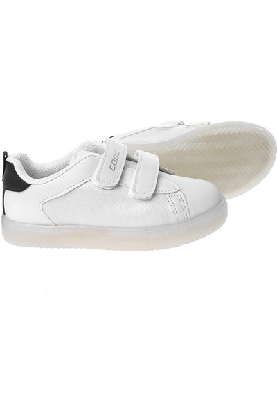 Cool 19-S28 Patik Beyaz-Lacivert 26-30