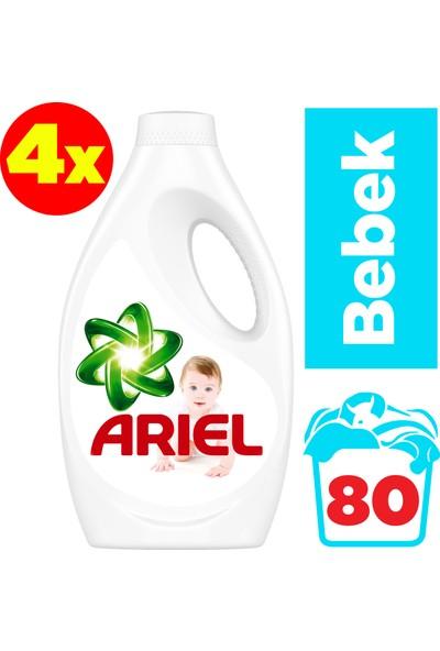Ariel Baby 4 x 20 Yıkama (80 Yıkama) Sıvı Çamaşır Deterjanı Bebekler İçin
