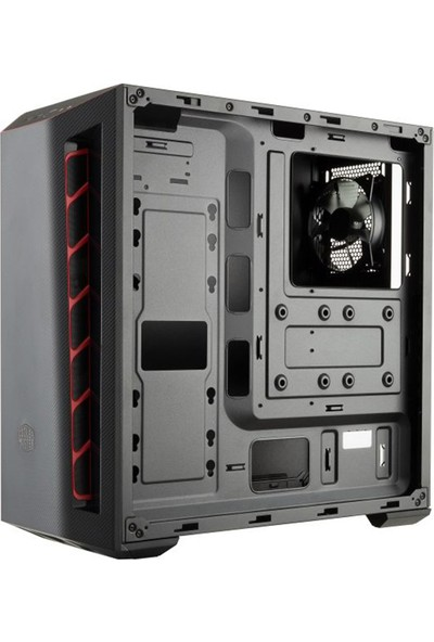 Cooler Master MasterBox MB501L 600W Carbon Dizayn Ön Panel 1x120mm Fanlı Pencereli MidTower Kasa (RC-MCB-B501L-KNNB60-S00)