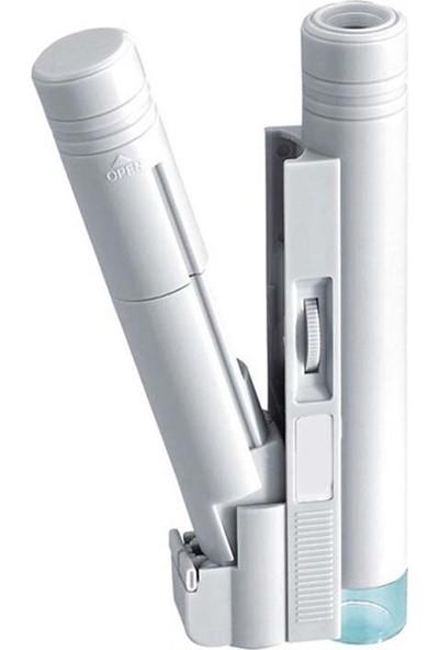 Alvepa Çok Fonksiyonlu Işıklı Kalem Mikroskop 100X LED'li + Deri Kılıf