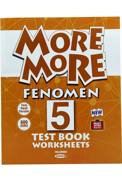 Kurmay Elt More And More 5. Sınıf Fenomen Test Book Worksheets