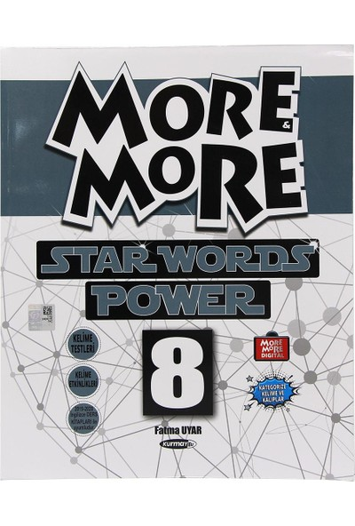 Kurmay Elt More And More 8. Sınıf Star Words Power