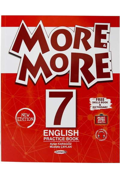 Kurmay Elt More And More 7. Sınıf English Practice Book + Skills Book
