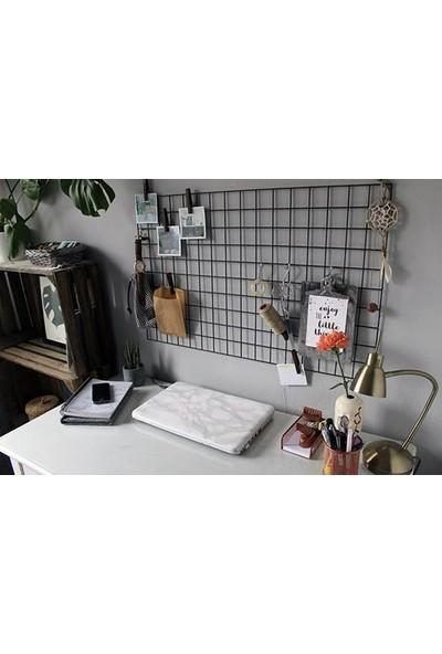 PlatinReyon Metal Fotoğraf Askısı Tel Askılık Metal Pano Notluk 80 x 60 cm