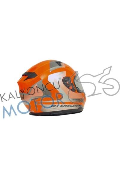 Prosev Motosiklet Kaskı Mts Blade Reflexone Orange