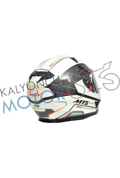Prosev Motosiklet Kaskı Mts Blade White-Black