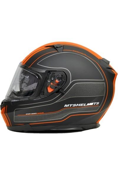 Prosev Motosiklet Kaskı Mts Blade Mat Orange