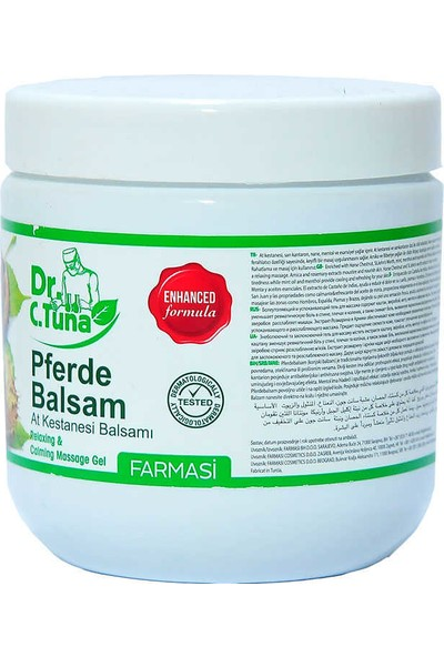 Farmasi Dr C. Tuna At Kestanesi Masaj Jeli 500 ml-1103011