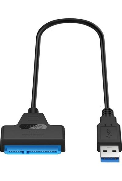 Alfais 4469 USB 3.0 2.5 Inç USB Sata Çevirici Dönüştürücü HDD Hard Disk Kablosu