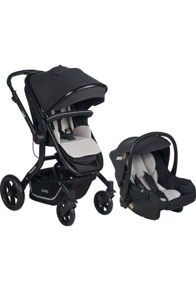 Kanz Proxima Plus Travel Sistem Bebek Arabası Siyah
