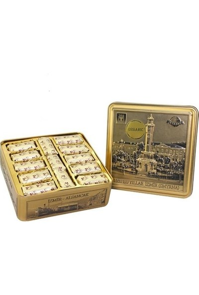 Tariş Smyrna Gold Organik Kuru İncir Metal Kutu 1000 Gr.