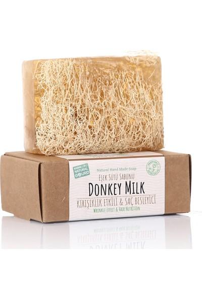 Dionesse El Yapımı Dionesse Doğal Kabak Lifli Eşek Sütü Sabunu 120 gr