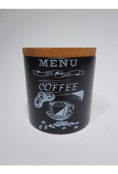 Keramika Baharat Takımı 12 cm 3 Parça Tebeşir Siyah