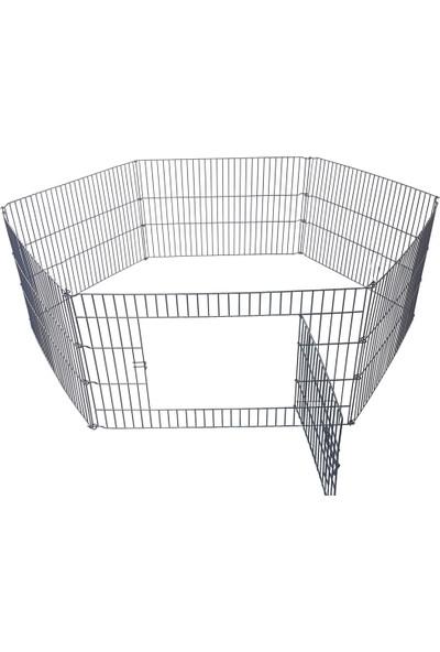 Best Cage Metal Kalın Telli Köpek Oyun Alanı Çit 61 x 48 cm 6 Parça