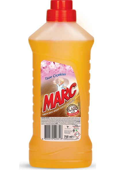 Marc Yüzey Temizleyici Ahşap 750 ml
