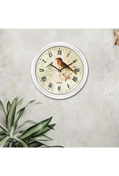 Cadran Luxury Dekoratif Camlı Duvar Saati CDX041