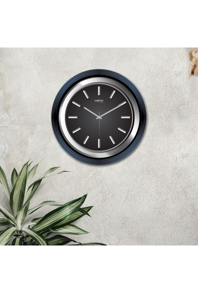 Cadran Luxury Dekoratif Camlı Duvar Saati CDX284