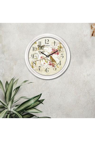 Cadran Luxury Dekoratif Camlı Duvar Saati CDX099