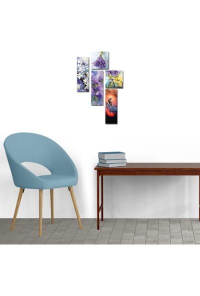 Decoclub Luxury Home 5 Parçalı Mdf Tablo Des245
