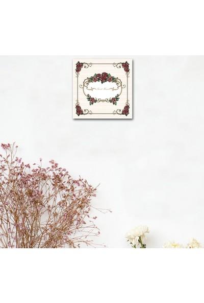 Cadran Home Dekoratif 30x30 MDF Tablo CHTT466