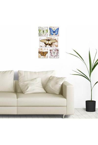 DecorLux Collage Style 5 Parçalı MDF Tablo ATF154