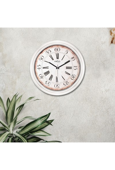 Cadran Luxury Dekoratif Camlı Duvar Saati CDX227