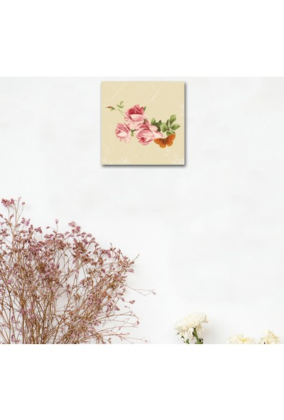 Cadran Home Dekoratif 30x30 MDF Tablo CHTT33