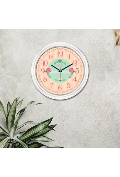 Cadran Luxury Dekoratif Camlı Duvar Saati CDX133