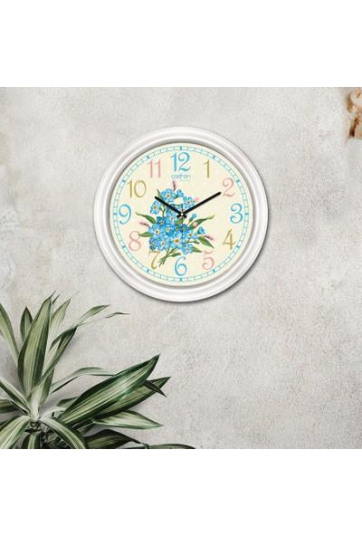 Cadran Luxury Dekoratif Camlı Duvar Saati CDX162