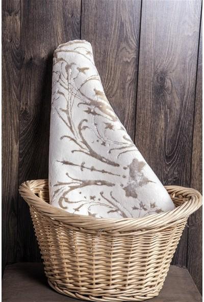 Shique Home 70 x 120 cm Pamuk Banyo Paspası - Lia Ekru