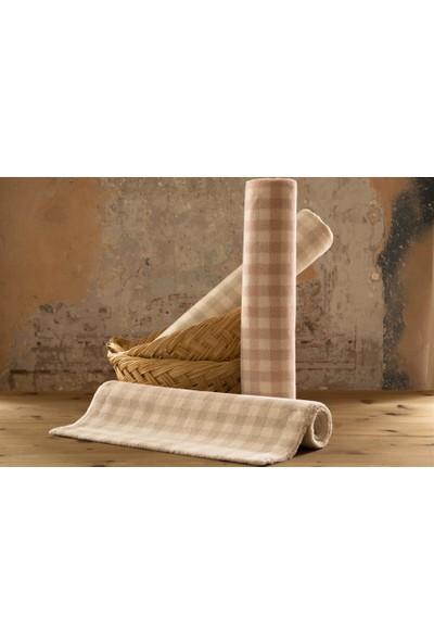 Shique Home 60 x 100 cm Pamuk Banyo Paspası - Uni Bej