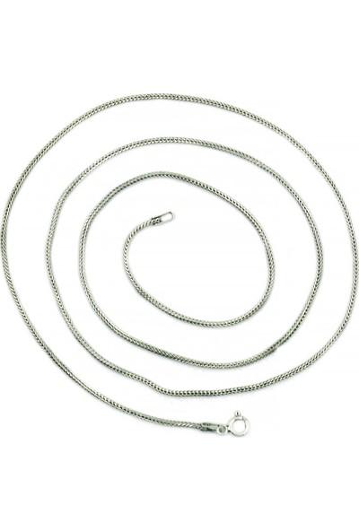 Aykat Uzun 70 cm Gümüş Zincir Uzun Bayan Kolye Ucu Kordonu Zinciri Znc-15