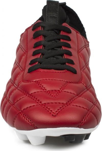 Jump 24596 Krampon Kırmızı Erkek Spor Ayakkabı