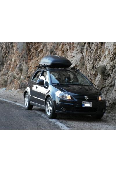 Firsbag Peugeot Araç Üstü Port Bagaj Tabut Bagaj 350 Litre