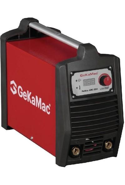 Gedik Kaynak GeKaMac Power ARC 250 MMA Inverter Kaynak Makinesi