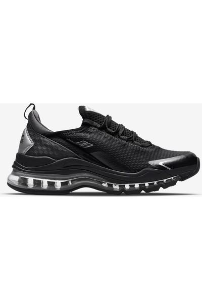Lescon Airtube Plus Siyah Bayan Spor Ayakkabı