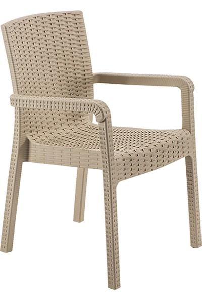 Şenyayla Bahçe Sandalyesi Rattan Royale