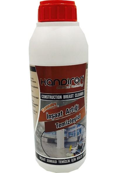 Handiron İnşaat Sonrası Artığı Atığı Beton Kum Camdan Harç Temizliyici Kimyasalı 1 kg